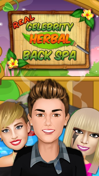 Real Celebrity Herbal Back Spa screenshot one