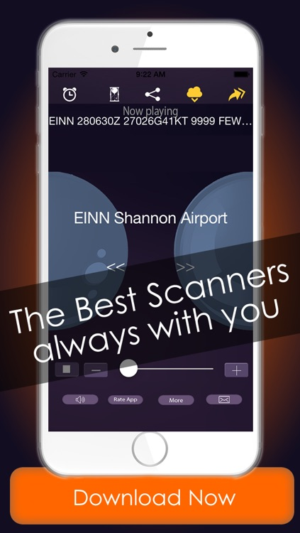 Police radio plus scanners - The best radio police , Air traffic , fire & weather scanner on line radio stations screenshot-4