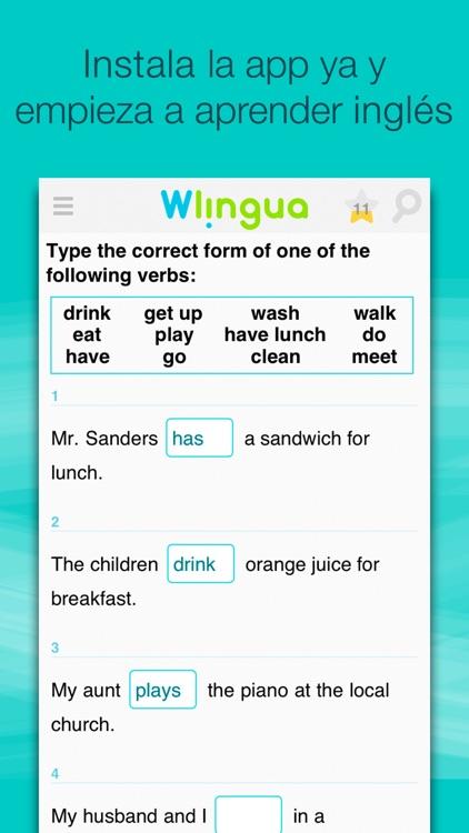 Aprender Inglés con Wlingua - Curso y Vocabulario screenshot-3
