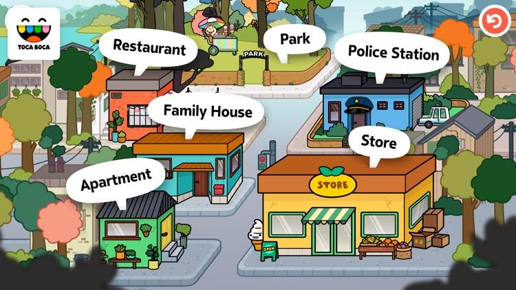 Toca Life: Town screenshot-4