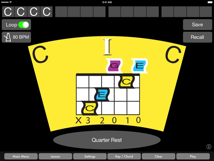 Guitar Chords by Music Wormhole screenshot-0