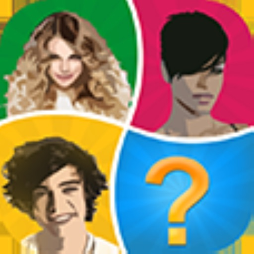 Word Pic Quiz Pop Stars - how many famous musicians can you name? Icon