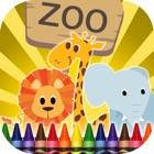 Coloriage Animaux De Zoo icon