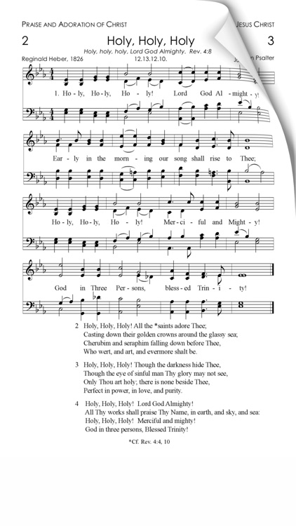 Christ In Song screenshot-0