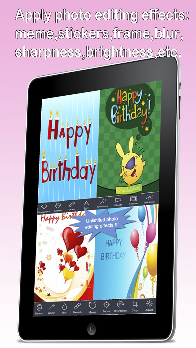 Custom And Screenshot 8 For The Ultimate Happy Birthday Cards Pro Version