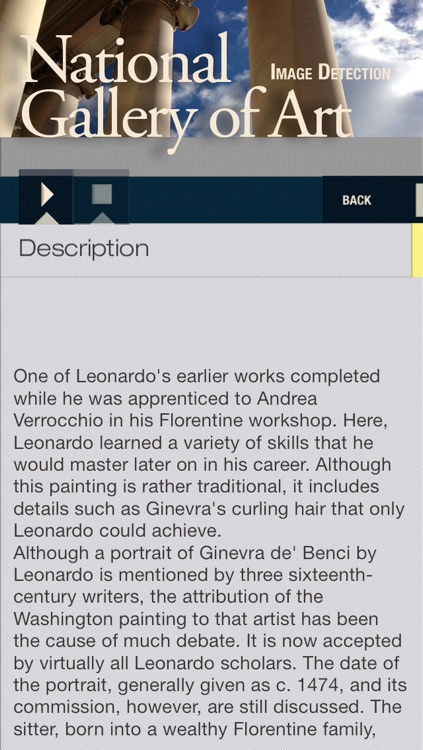 National Gallery Washington ID audio guide screenshot-3