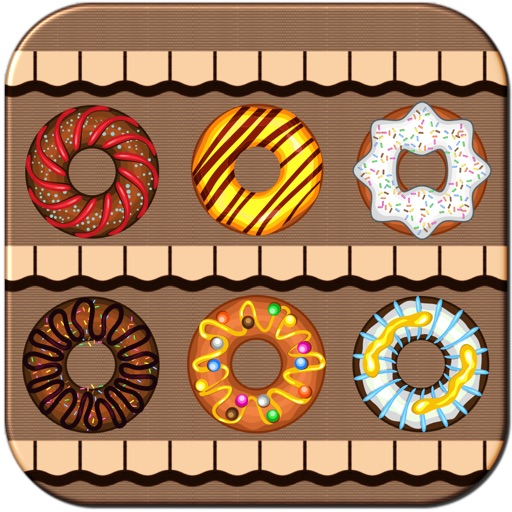 Tasty Donuts - Match Same Style Donuts Full