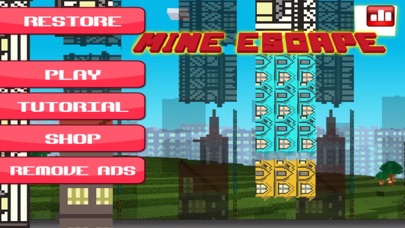Mine Escape - Use The Craft Rope 'N Fly Away screenshot one