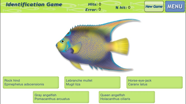 Marine Fishes - Identification Guide screenshot-3