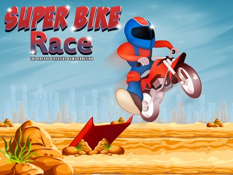 super bike race - The Arcade Creative Game Edition-ipad-0