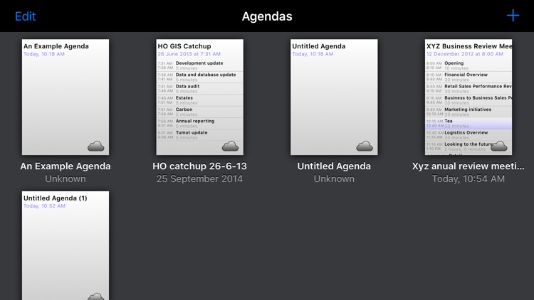 Agenda Maker screenshot-0