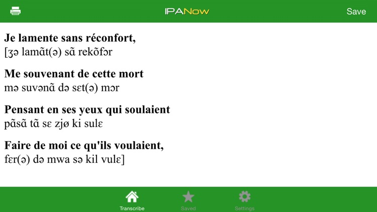 IPANow! French