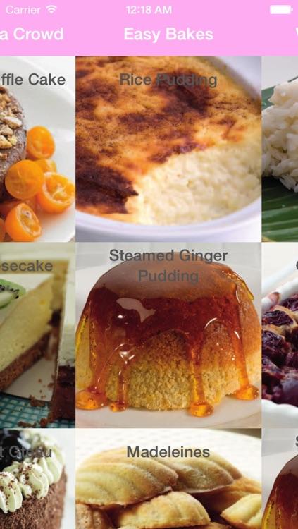 Dessert & Cake Recipes