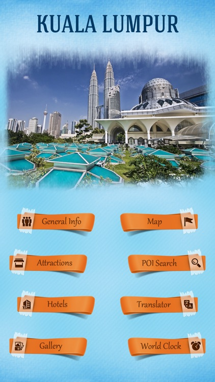Kuala Lumpur City Offline Travel Guide