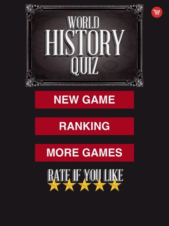 World History Quiz Trivia Questions