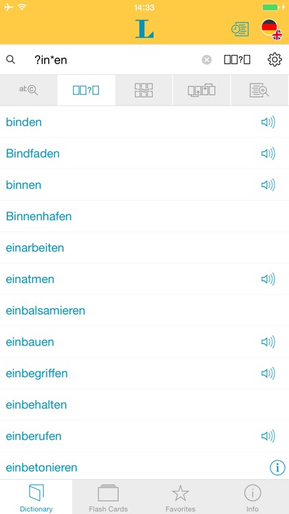 German <-> English Talking Dictionary Standard screenshot-3