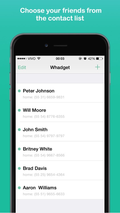 Shortcut for WhatsApp and more - Whadget