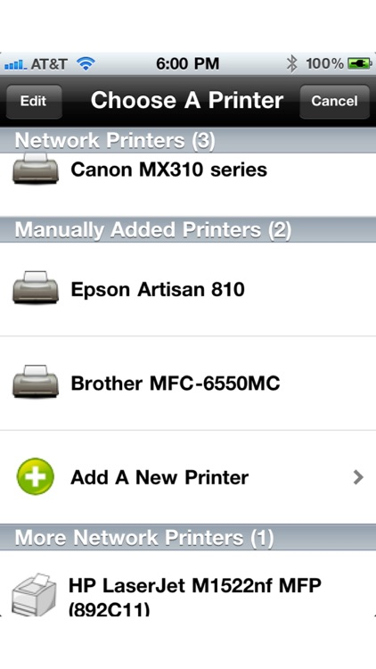 Printing for iPhone