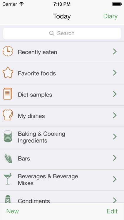 Diet Diary - Calories screenshot-3