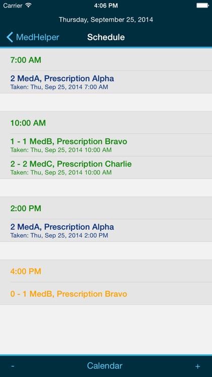 Med Helper – Pill Reminder and Medication Tracker
