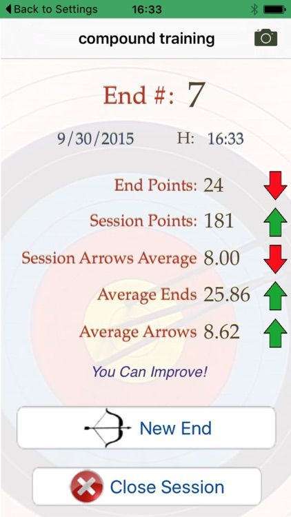 My Archery Stats - scores and statistics for archery