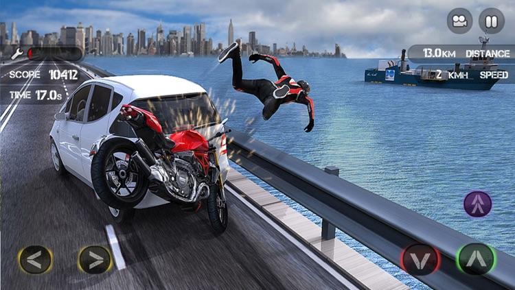 Race the Traffic Moto screenshot-4