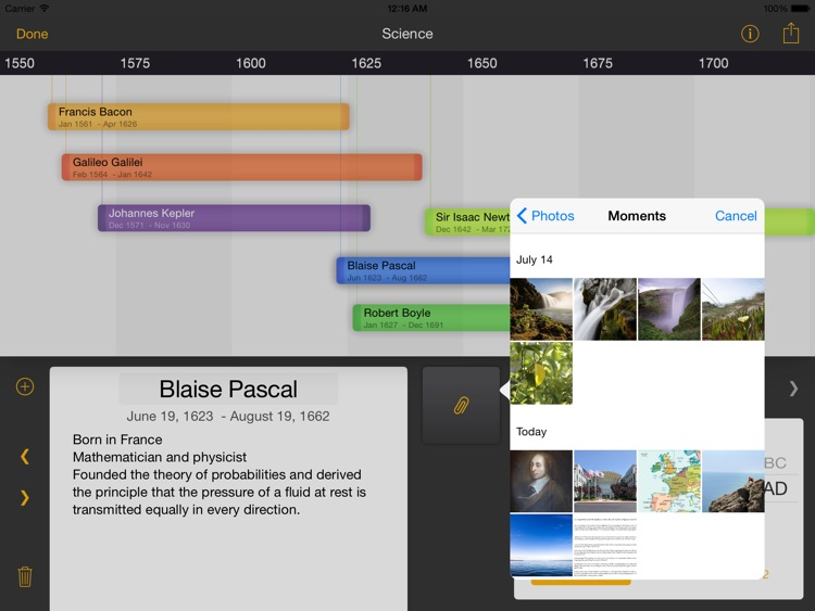 The Timeline Builder screenshot-3