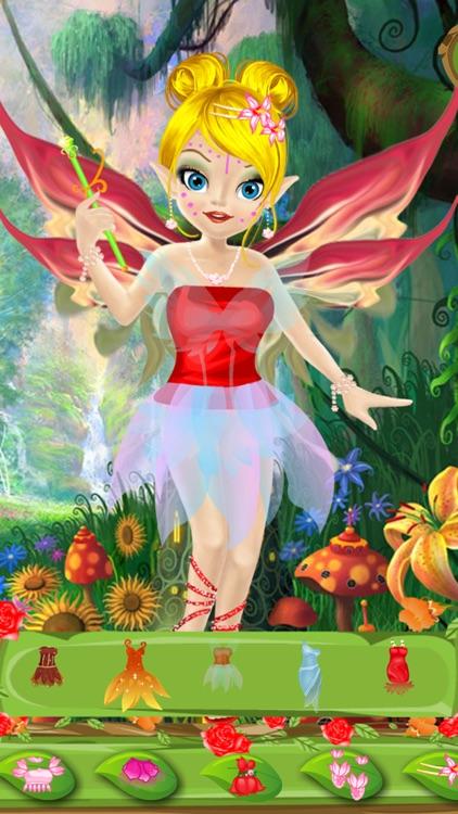 Dress Up - Flower Fairy screenshot-3