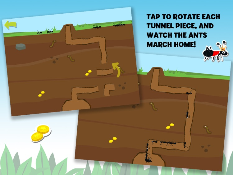 Brainy Bugs' Preschool Games for iPad screenshot-3