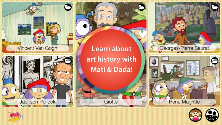 Mati & Dada - Art History for Kids screenshot-0