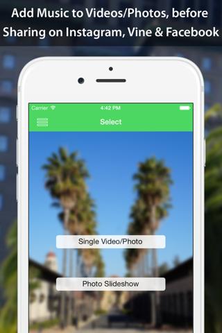 VideoSound — Add Music to Instagram Video screenshot 1