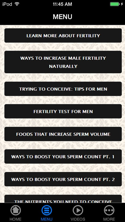 Get Best Fertility Information & Pregnant Fast screenshot-4