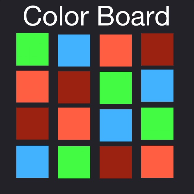 Color Board Puzzles - Fastest Finger on Tile Challenge Game on the ...