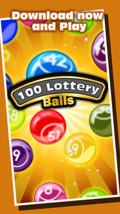 100 Lottery Balls - Catch the Balls as They Drop into Your Cup screenshot-3