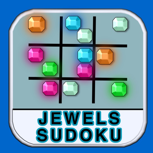 Amazing jewels sudoku - the crazy sudoku puzzle
