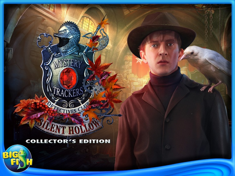 Mystery Trackers: Silent Hollow HD - A Hidden Object Detective Game (Full) screenshot-4