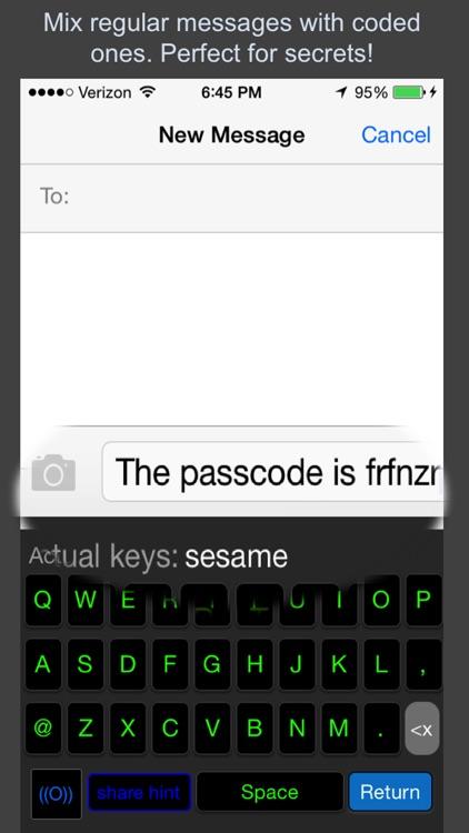 Secret Keys Keyboard