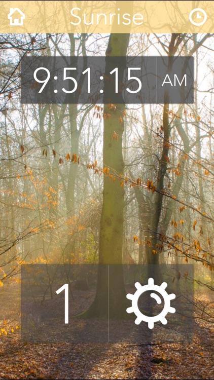 Nature Sounds Free Clockstand - Naturely screenshot-3