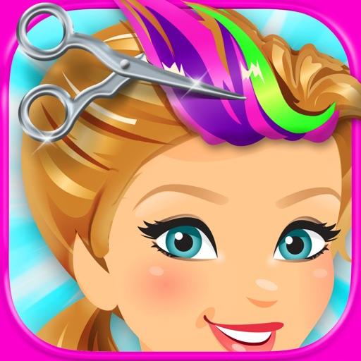 Funky Hair Salon - Kids Fun Style Games FREE
