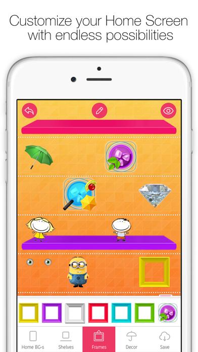 Icon Skins Builder - Personaliza con los fondos tanto la Pantalla de Inicio como la Pantalla bloqueadaCaptura de pantalla de1