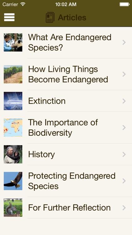Britannica Kids: Endangered Species screenshot-4