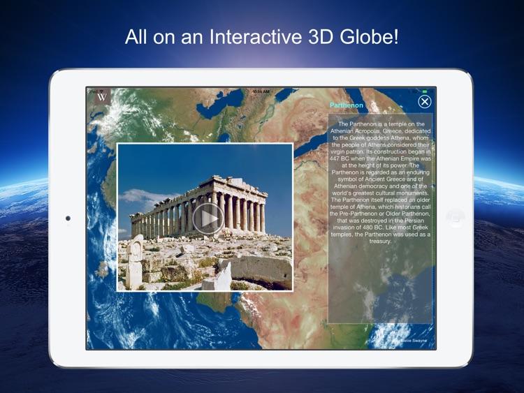 Earth 3D - 501 Wonders of the World screenshot-4