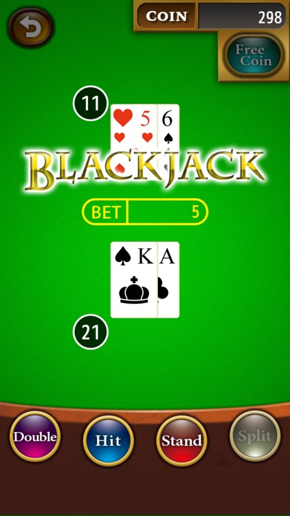 The Blackjack ◆ Completely Free ◆ World's most popular Casino Game