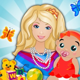 Makeover New Born Baby House -kids game