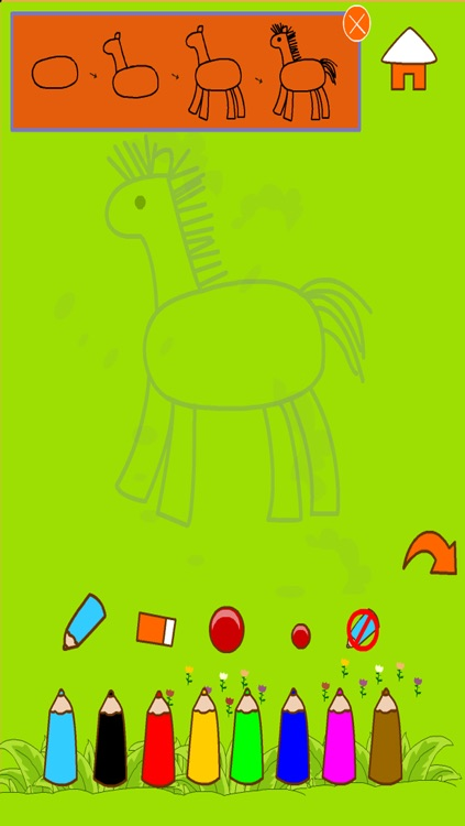 draw & doodle free draw animal screenshot-2