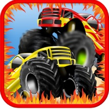 Extreme Offroad Monster Truck Run - The Beach Legends Madness Strike Again