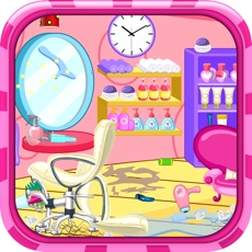 Activities of Clean up hair salon - Cleanup game