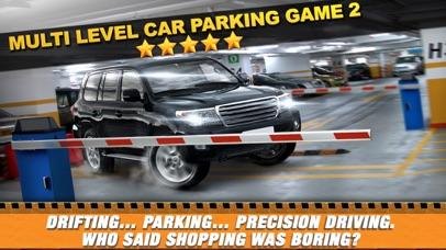 Multi Level 2 Car Parking Simulator Game - Real Life Driving Test