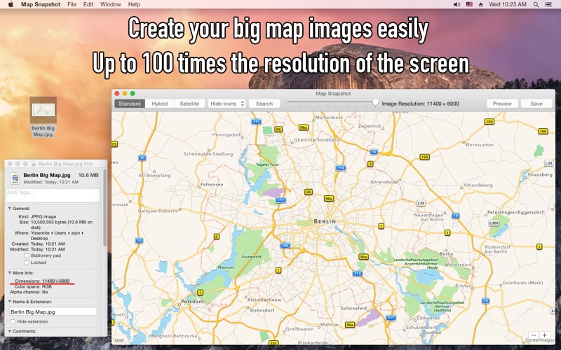 Map Snapshot Screenshot