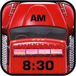 Fire Truck Alarm Clock